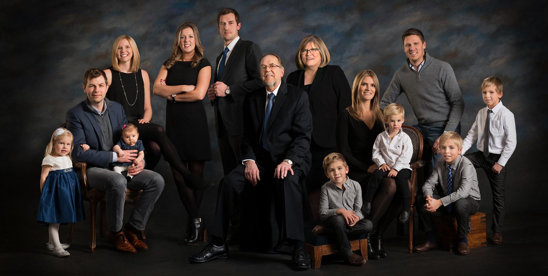 big family portrait ebert studio ebert studio