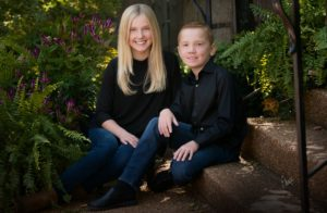 Brother and sister portrait - Ebert Studio